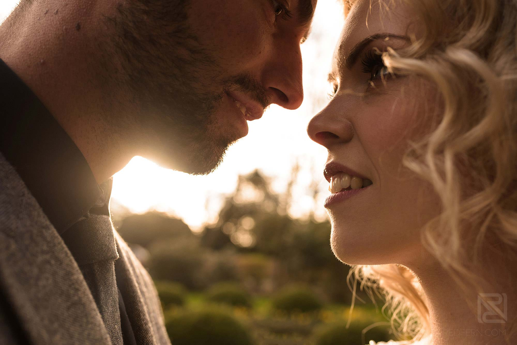 close up photograph of bride and groom on wedding photography training day