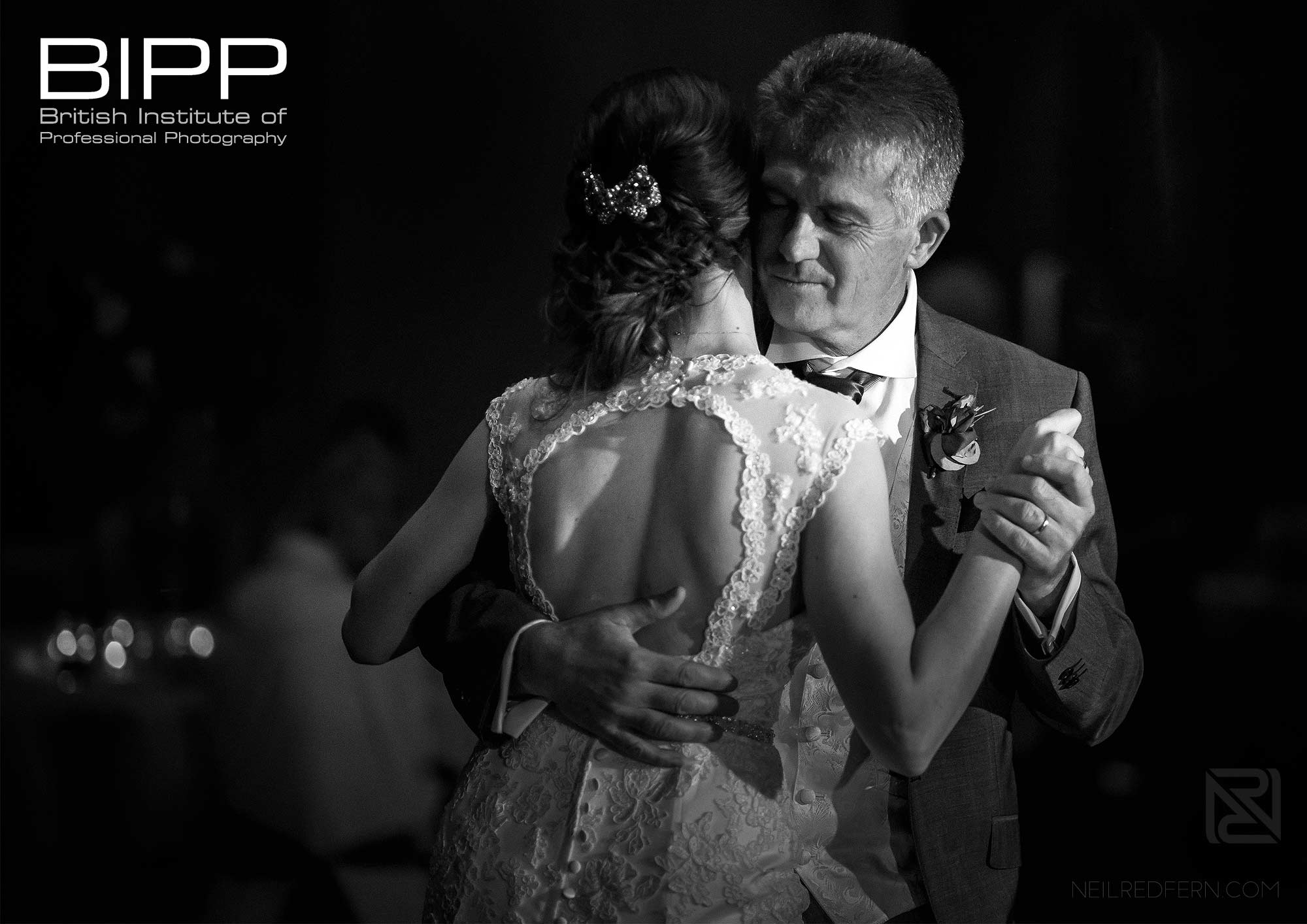 BIPP Gold Award photograph of father and daughter dancing