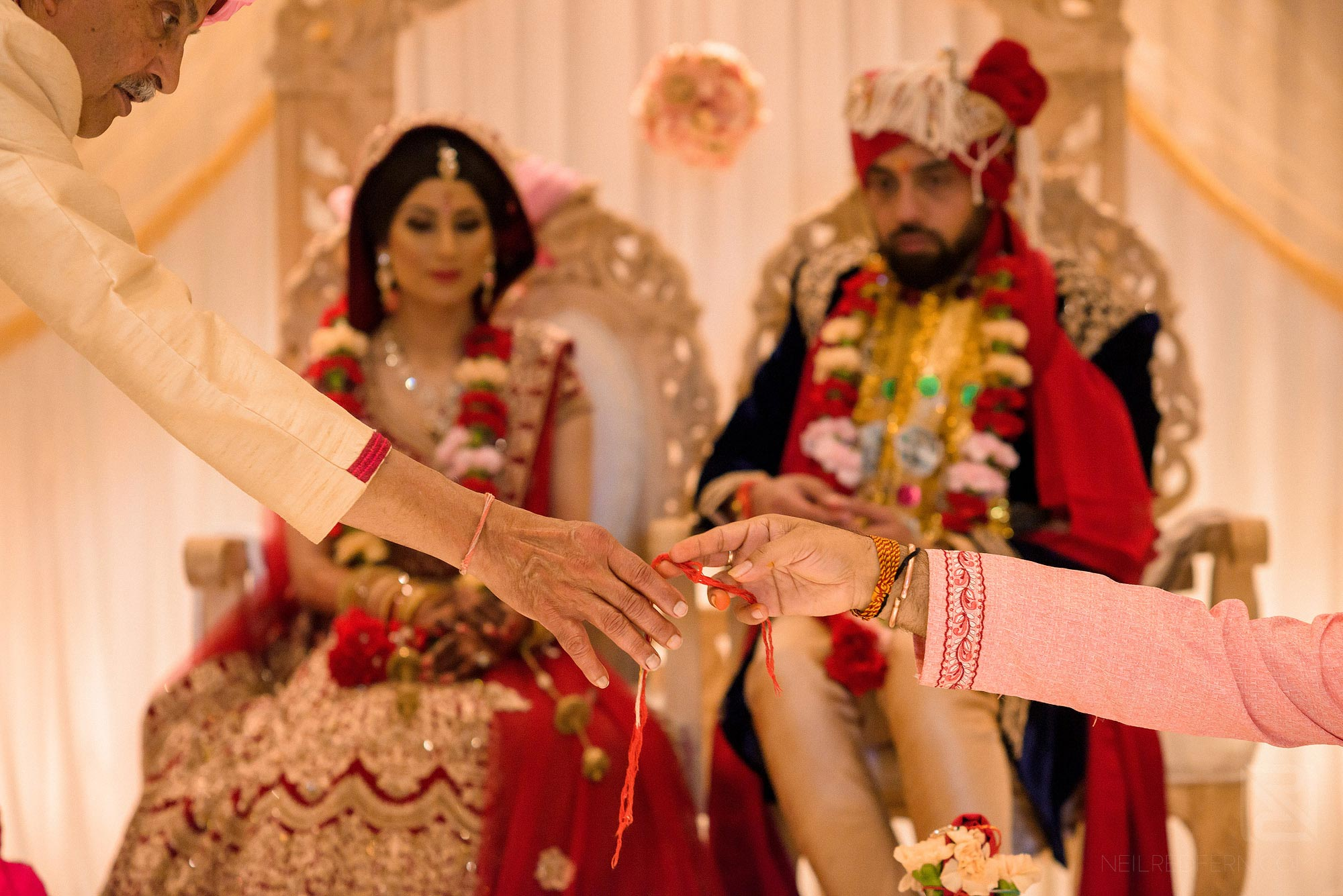 Indian wedding ceremony in Manchester