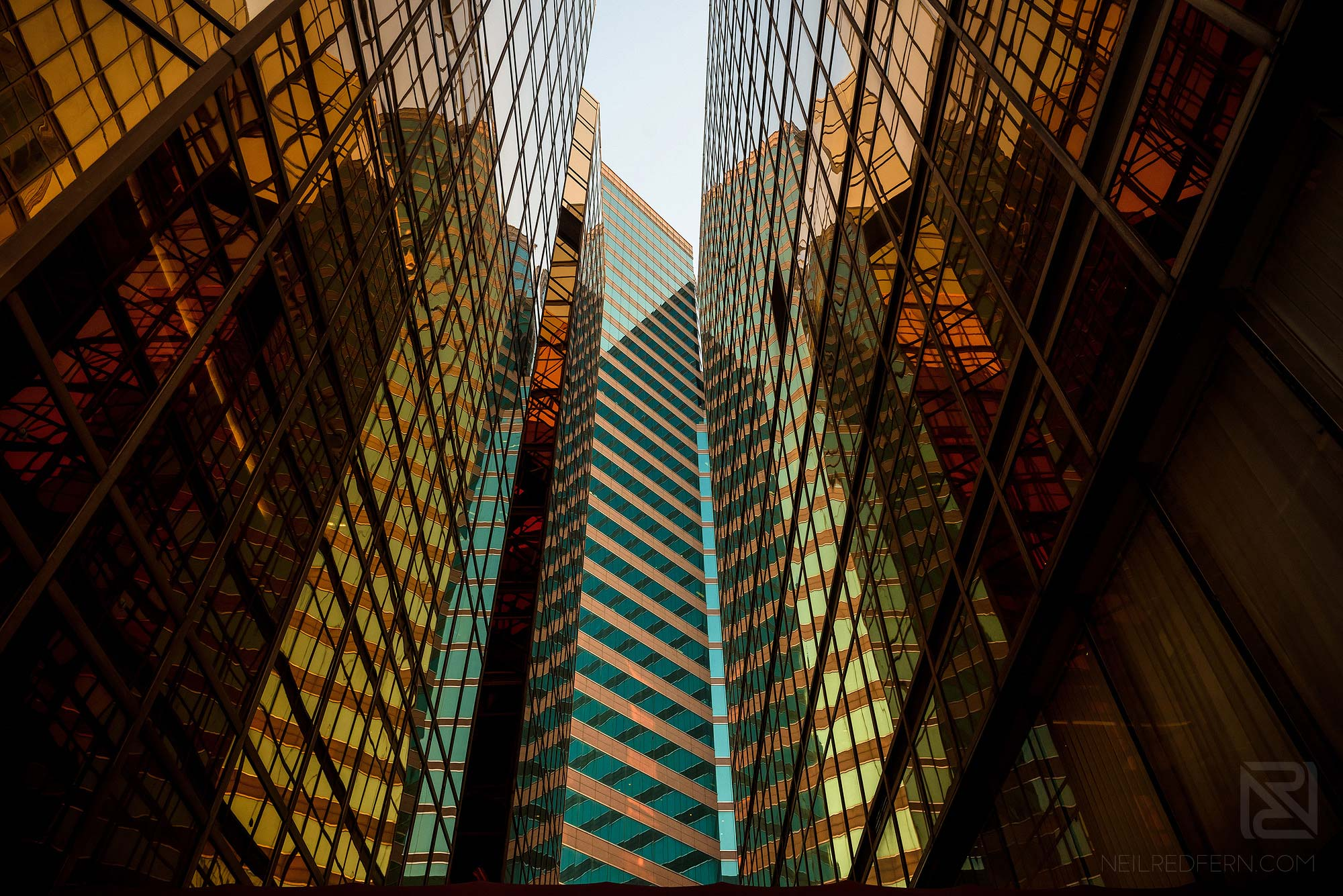 wide photograph of office buildings in China Hong Kong city