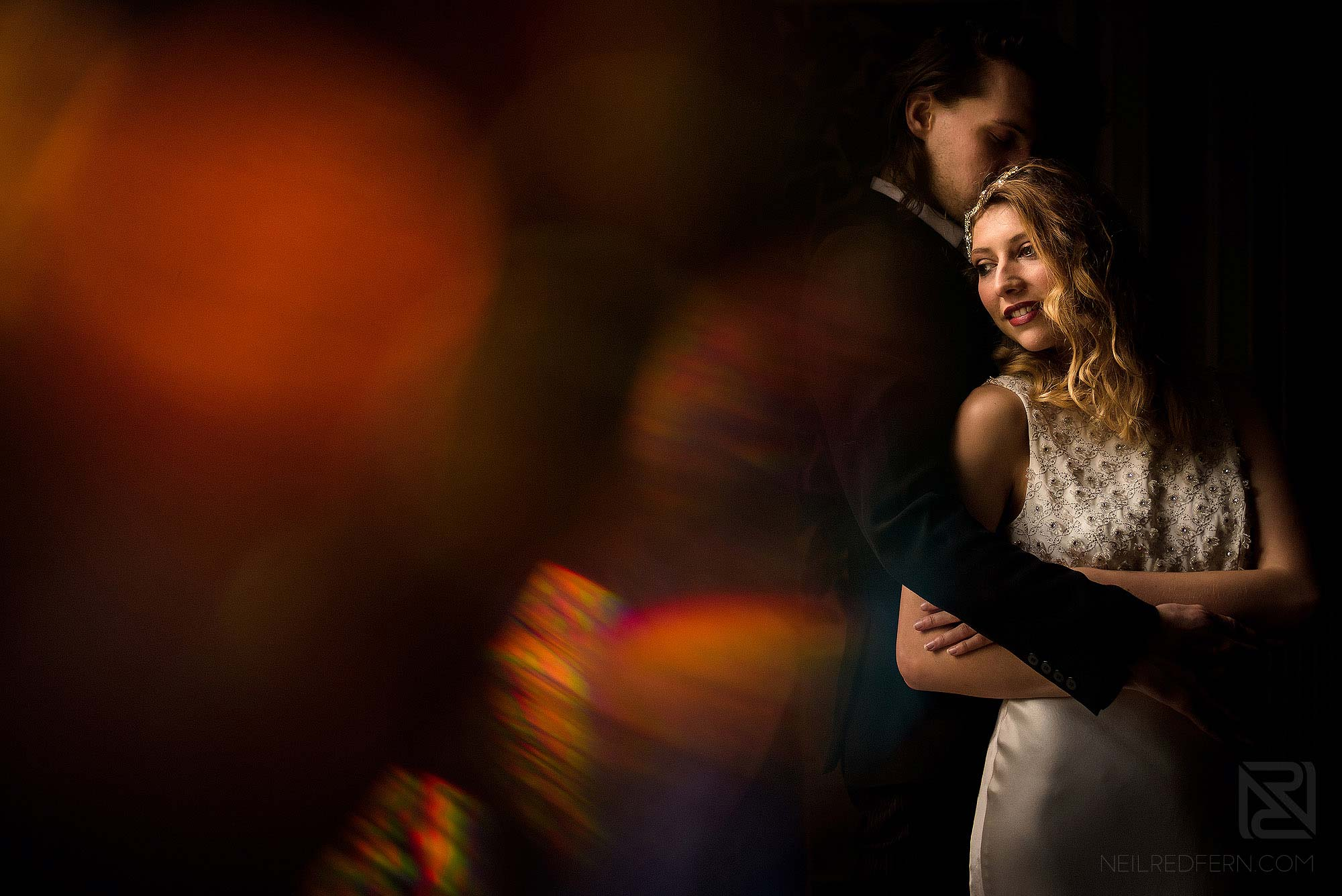 window light portrait of couple on wedding photography workshop in north west