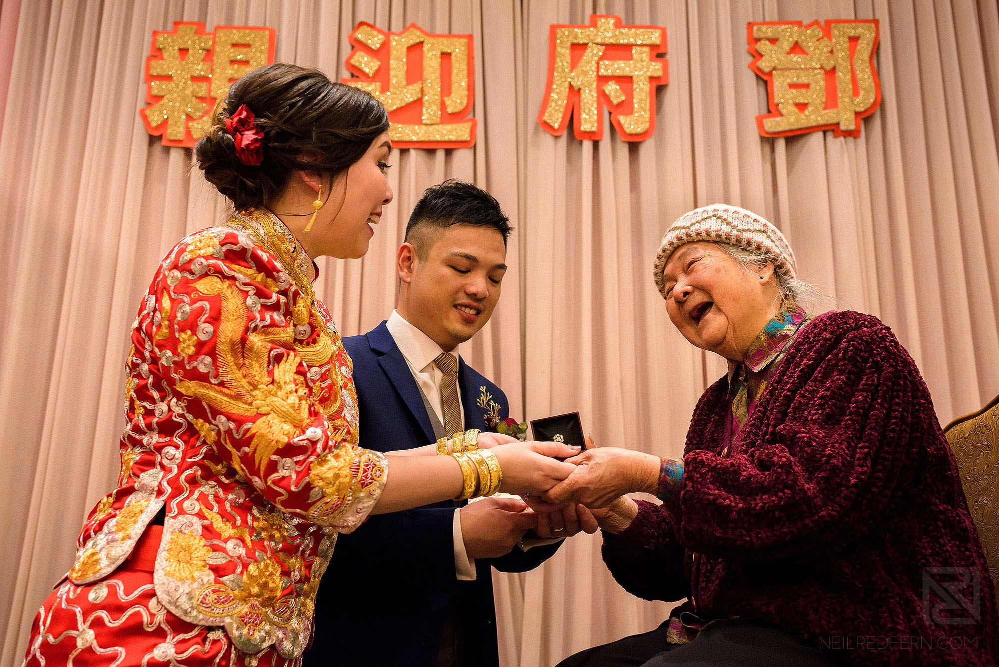 Chinese tea ceremony in Hong Kong