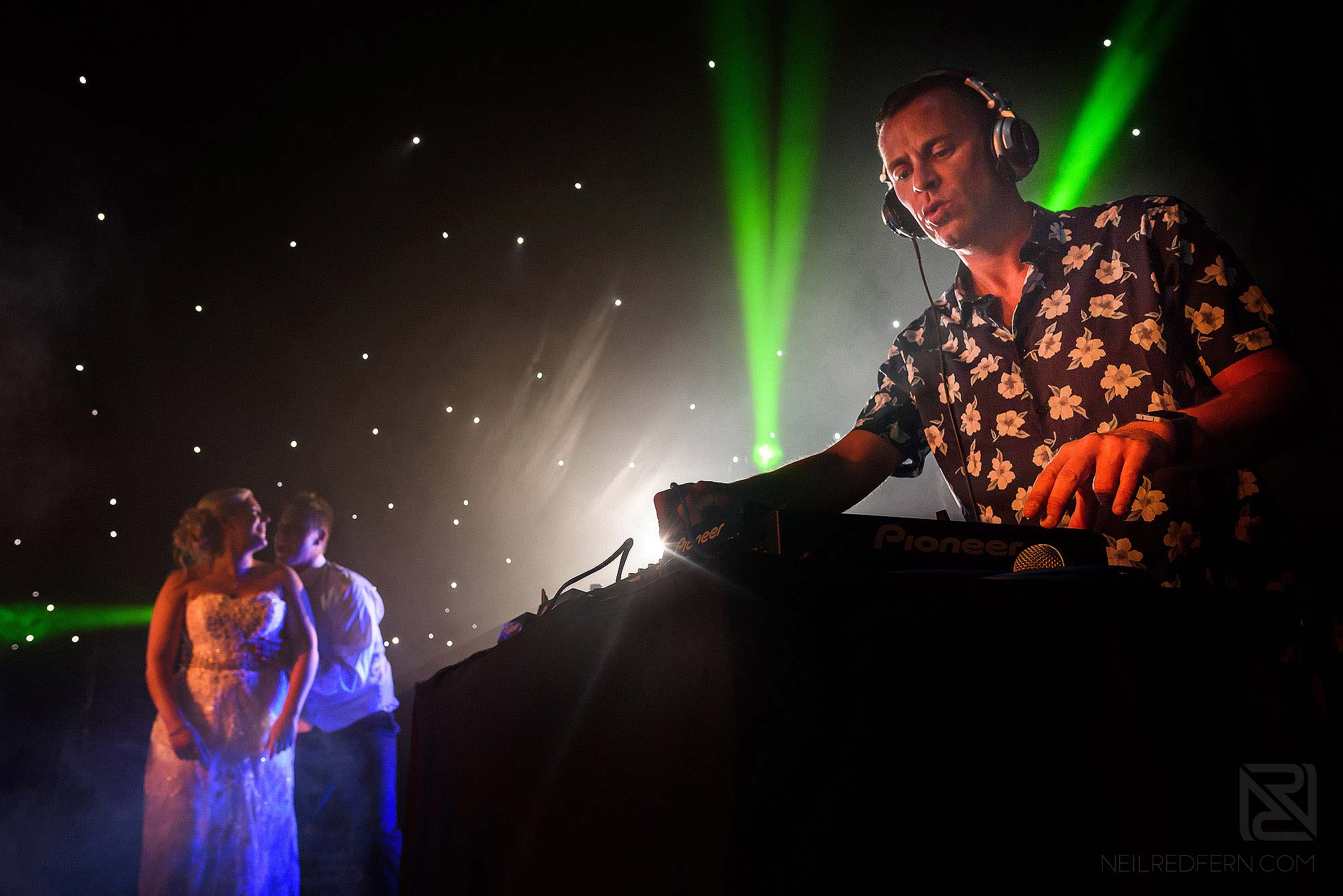 Radio One Scott Mills as wedding DJ