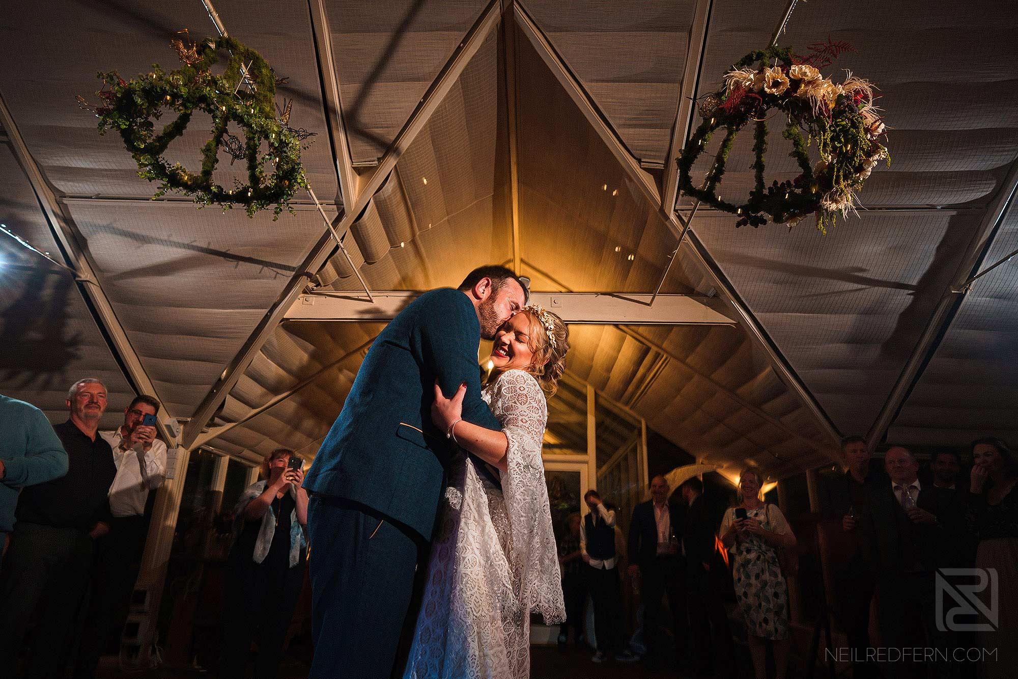 first dance at Abbeywood Estate wedding