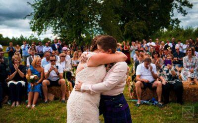 Rustic wedding on a farm – Lauren & Tara
